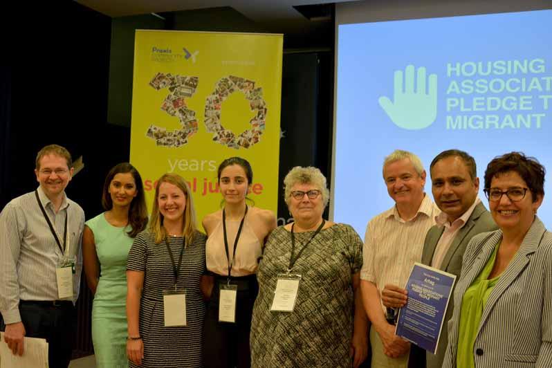 Migrent pledge conference